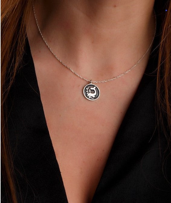 Personalized Family Crest Necklace-Minimalist Designs