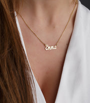 Personalized Tiny Name Necklace
