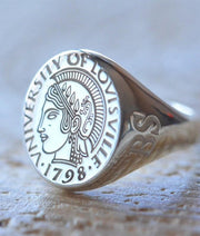 University of Louisville Ring-Minimalist Designs