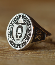 Custom Made Ohio State University College Ring - Any College-Minimalist Designs