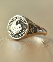 Personalized University of Central Florida Ring
