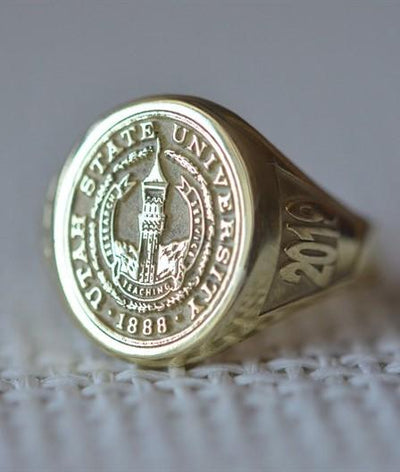Utah State University Ring-Minimalist Designs