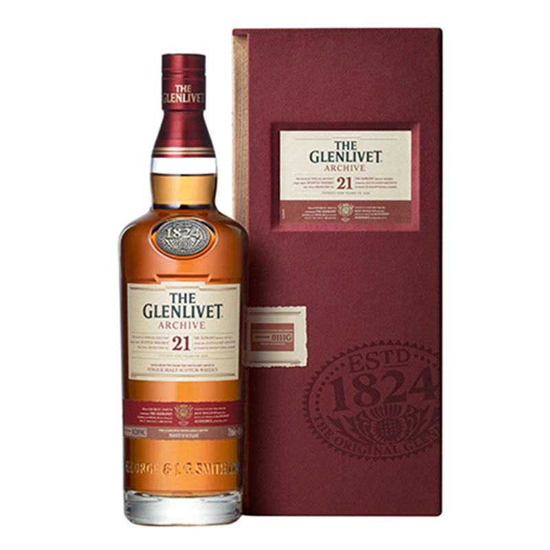 The Glenlivet Archive 21 Yr Scotch Whisky 750ml - ShopSK