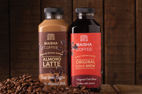 Maisha Coffee comes in a range of flavours