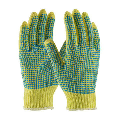 PIP® Kut Gard® Seamless Knit Kevlar® Glove w/Double-Sided PVC Dot Grip