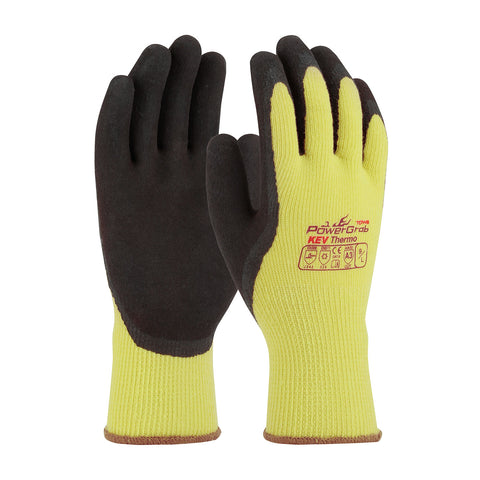 PIP® PowerGrab™ KEV Thermo Seamless Knit Kevlar®/Acrylic Glove w/Latex Coated Grip - 09-K1350