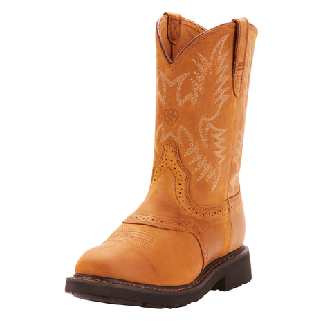 ARIAT® Sierra Saddle Work Boot - Men's - Medium Width - Aged Bark