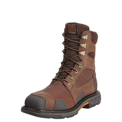 "ARIAT® OverDrive 8"" Wide Square Toe - Waterproof Composite Toe Work Boot"
