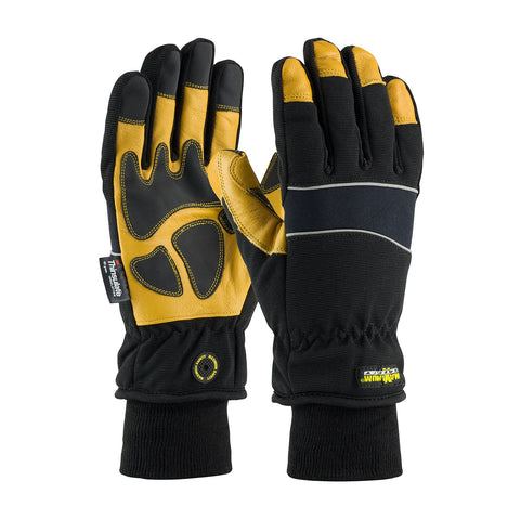 PIP® Maximum Safety® Thinsulate® Lined Winter Glove w/Waterproof Barrier & Goatskin Palm - 120-4800