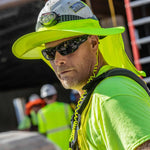 ergodyne® Chill-Its® 6660 Hard Hat Brim w/Shade