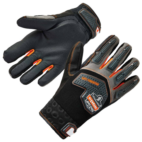 ergodyne® ProFlex® 9015F(x) ANSI/ISO-Certified Anti-Vibration Gloves + DIR Protection - Multiple Sizes