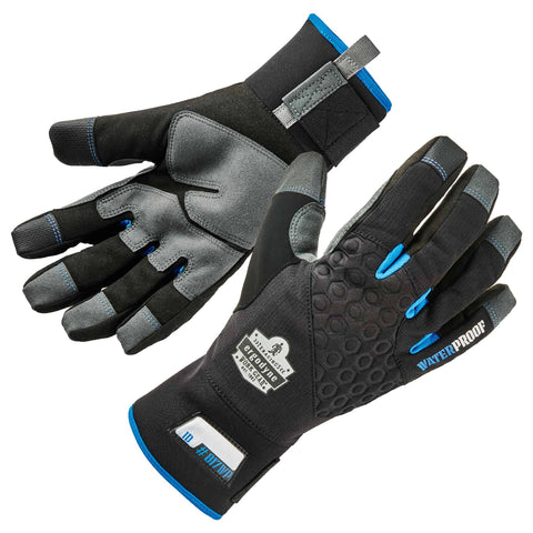 ergodyne® ProFlex® 817WP Thermal Waterproof Winter Work Gloves w/Reinforced Palms