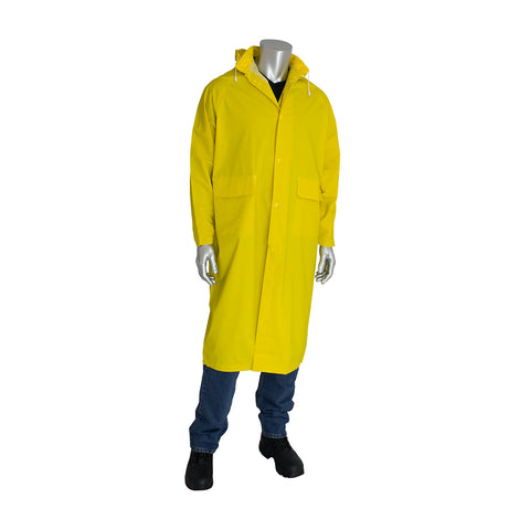 "PIP® Base35FR™ Premium Two-Piece 48"" Treated Raincoat - 205-300FR"