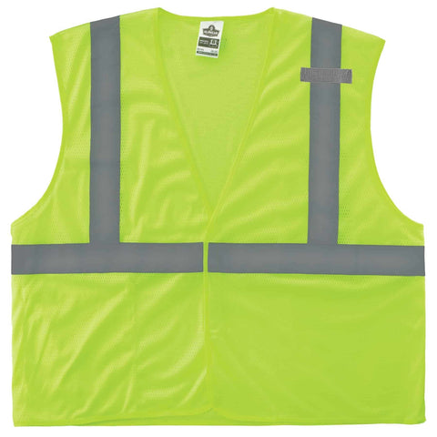 ergodyne® GloWear® 8210HL Type R Class 2 Economy Mesh Vest - Unisex - Multiple Sizes/Colors