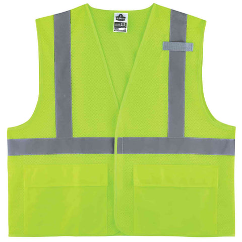 ergodyne® GloWear® 8220HL Type R Class 2 Standard Mesh Vest - Multiple Colors - Multiple Sizes