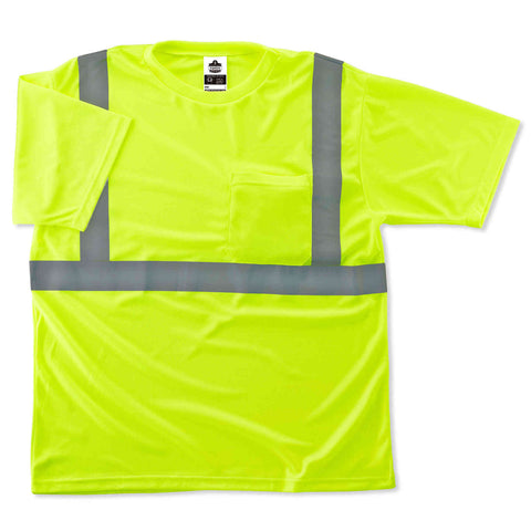 ergodyne® GloWear® 8289 Type R Class 2 T-Shirt - Multiple Colors - Multiple Sizes