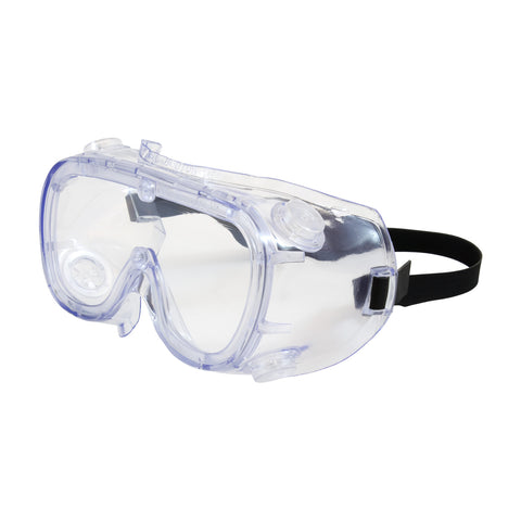 PIP® 551 Softsides™ Indirect Vent Goggle w/Clear Blue Body - Clear Lens & Anti-Scratch/Anti-Fog Coating - Unisex - OSFA