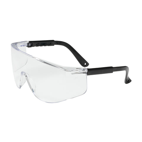 PIP® Zenon Z28™ OTG Rimless Safety Glasses w/Black Temple & Clear Lens - Unisex - OSFA