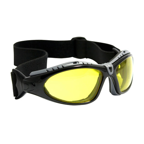 PIP® Fuselage™ Full Frame Safety Glasses w/Black Frame - 250-50-0429