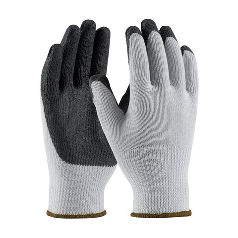 PIP® Seamless Knit Polyester/Cotton Glove w/Nitrile Coated Smooth Grip - Unisex - Grey - Medium