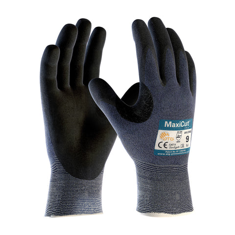 PIP® MaxiCut® Ultra™ Seamless Knit Engineered Yarn Glove w/Premium Nitrile Coated Grip - 44-3745