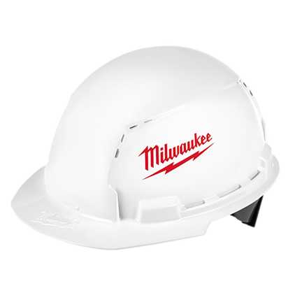 Milwaukee Front Brim Hard Hat with BOLT™ Accessories