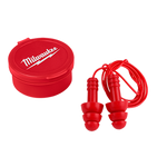 Milwaukee 3 Pack Reusable Corded Ear Plugs
