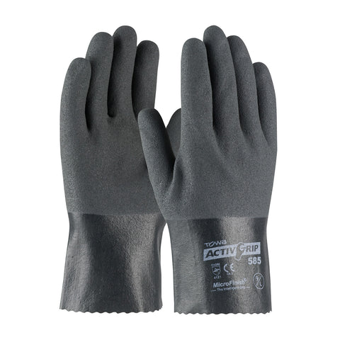 PIP® ActivGrip™ Nitrile Coated Glove w/Cotton Liner & MicroFinish Grip - 56-AG585