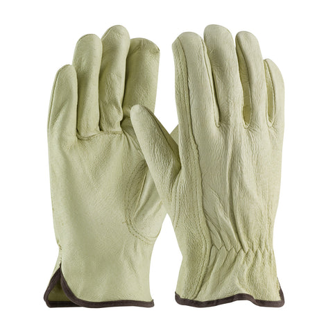 PIP® Industry Grade Top Grain Pigskin Leather Drivers Glove - Keystone Thumb