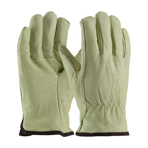 PIP® Top Grain Pigskin Leather Glove w/White Thermal Lining - 77-418