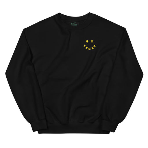 Go Vegan Smiley | Sweatshirt