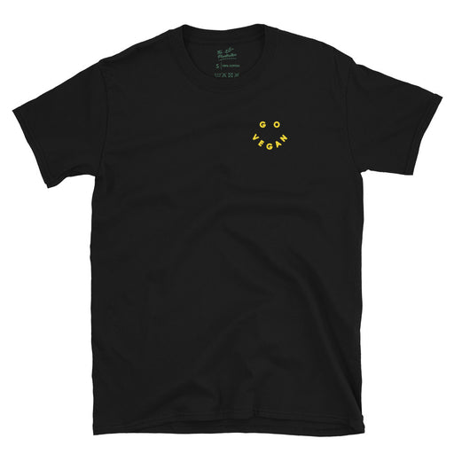 Go Vegan Smiley | Organic T-Shirt - theplantnation