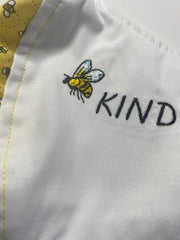Bee Personalized Embroidered Face Mask