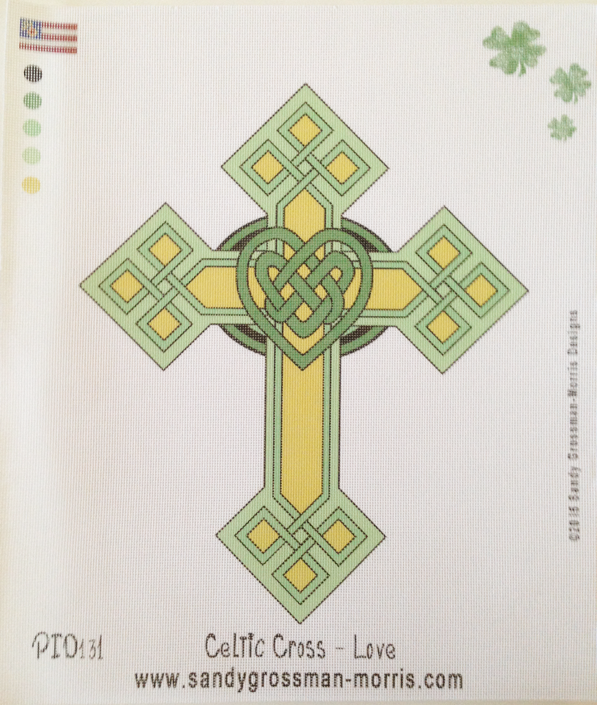 Celtic Cross - Love Knot