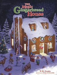 """The Magic Gingerbread House"" StoryBook Stocking"