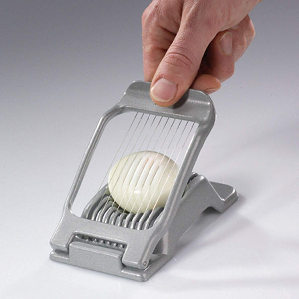 The duplex egg slicer