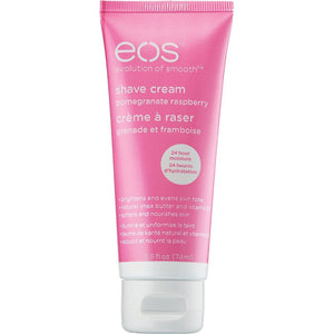 eos shea better pomegranate raspberry shave cream