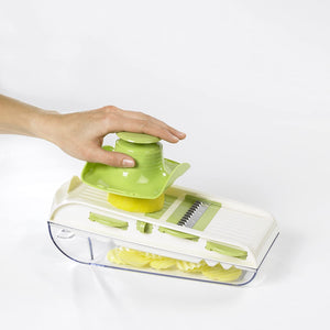 Lurch Germany All In One Multi Purpose Mandoline V-Slicer Set With Container