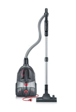 Severin S'Power Extreme Bagless Canister Vacuum Cleaner, Midnight Black
