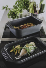 ELO Germany Cast Aluminium Roaster with Grill Pan Lid