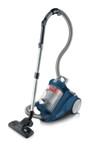 Severin Germany Bagless Canister Vacuum Cleaner, Ocean Blue