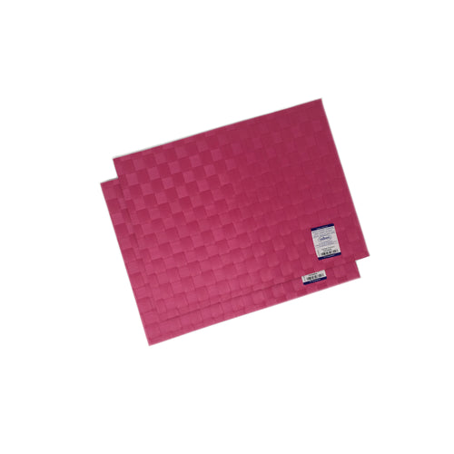 Saleen Germany Hand Woven Placemats Raspberry (set of 2)