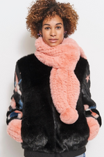 Load image into Gallery viewer, Bunny Hop Pom Scarf