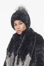 Load image into Gallery viewer, Bunny Hop Fur Pom Hat