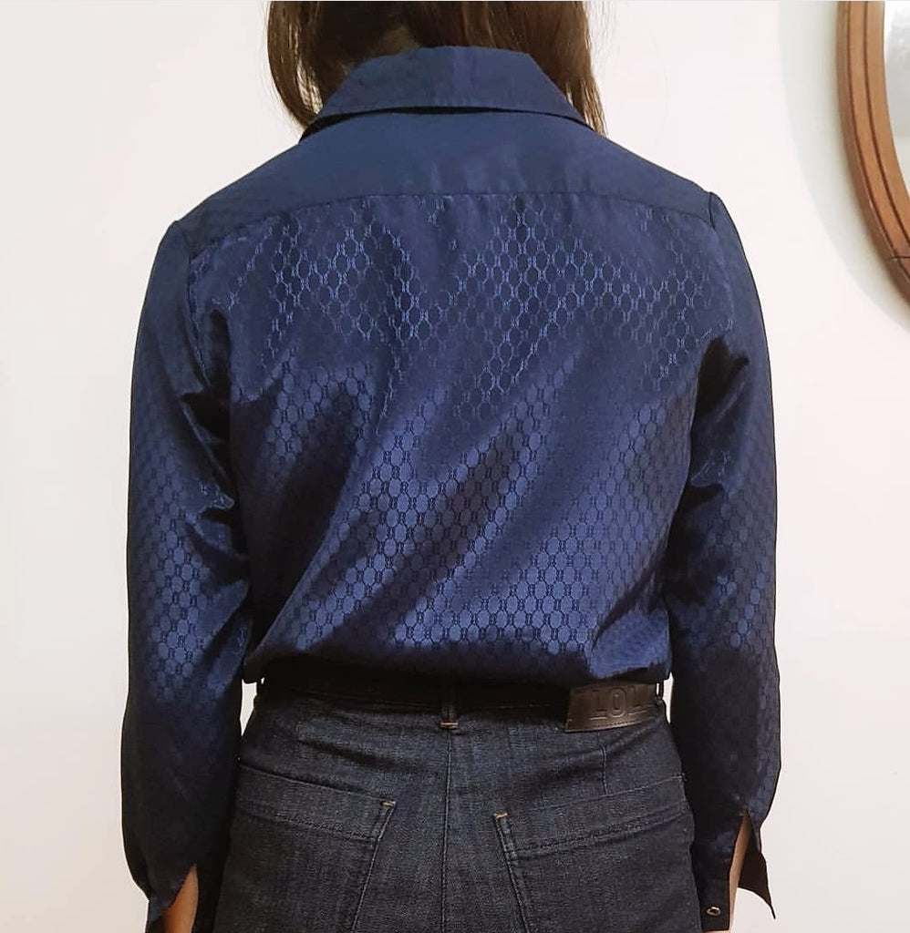 Navy Blue Vintage Shirt