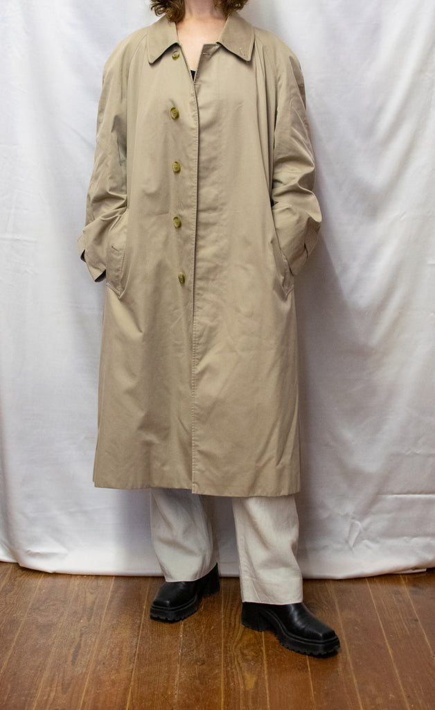 Original Burberry Trench Coat in Beige - with cotton!