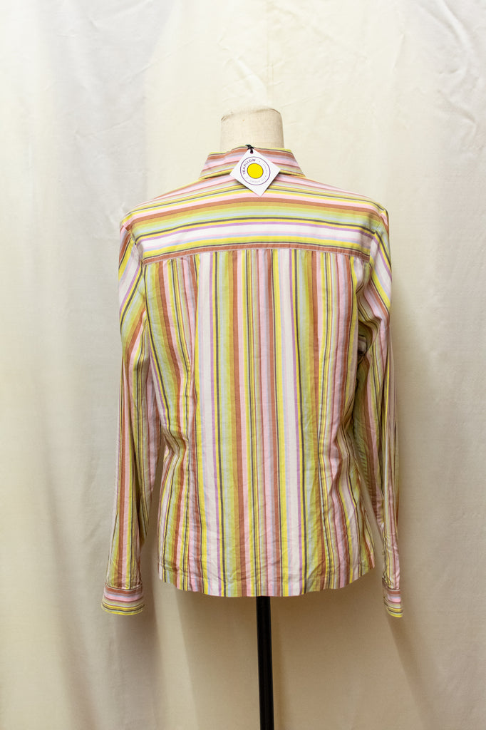 Burberry Stripped Shirt - Multicolor
