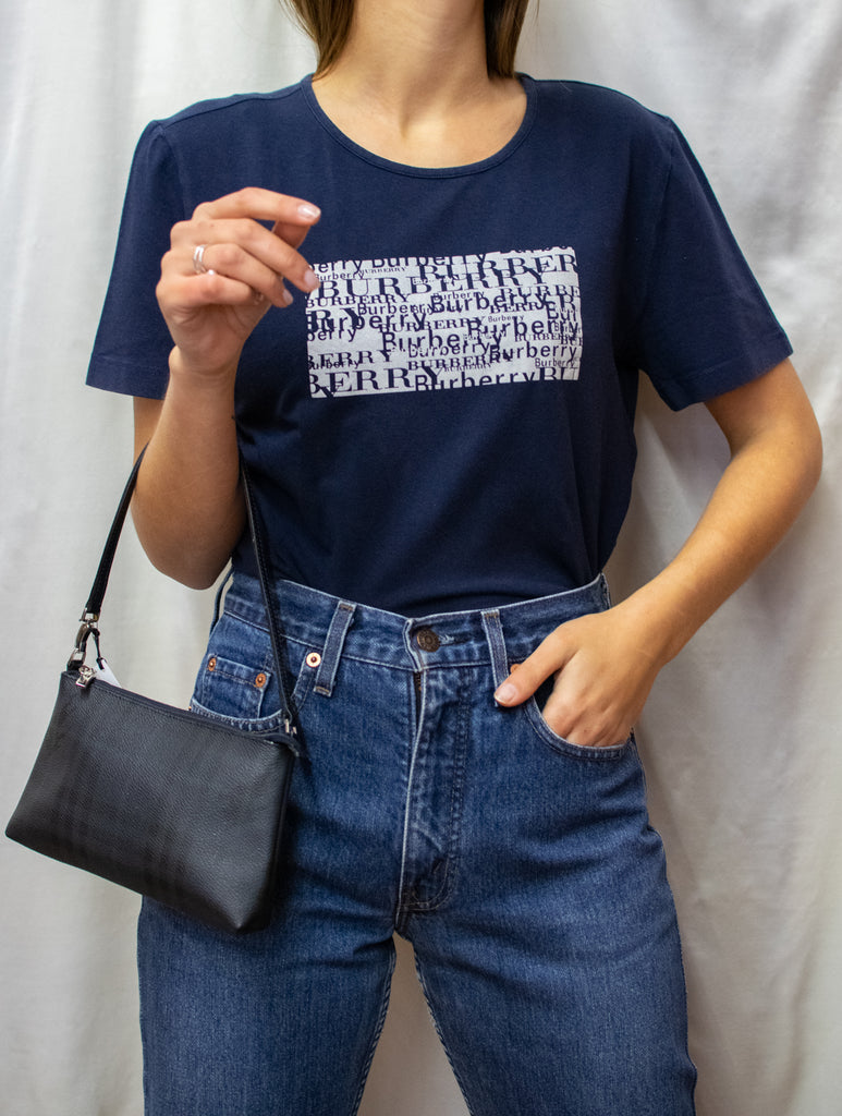 Burberry Cotton T-shirt - Blue