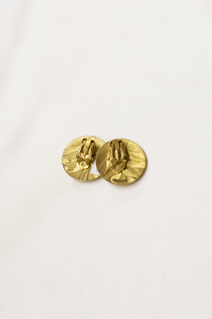 Golden Vintage Earrings