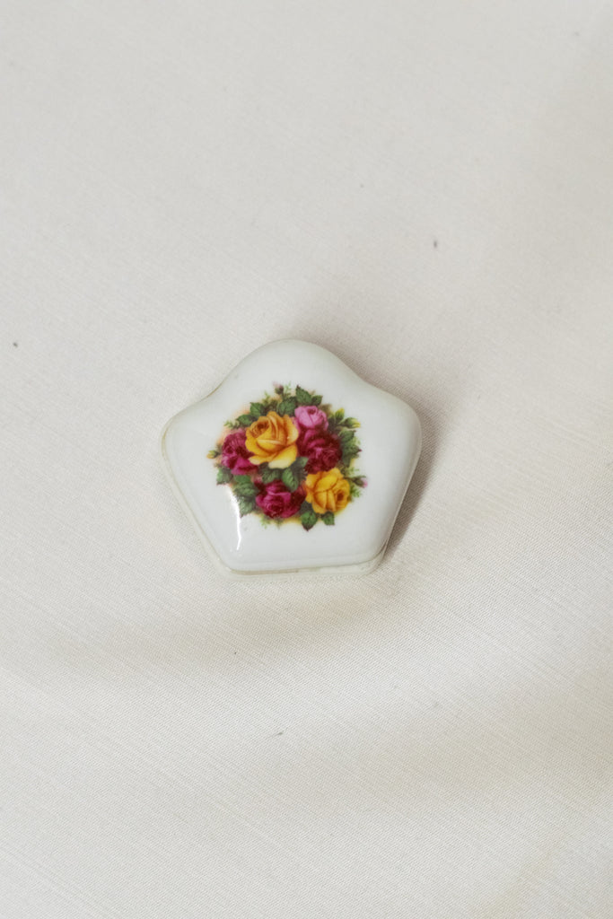 Vintage Little Box Made In Portugal - so pretty